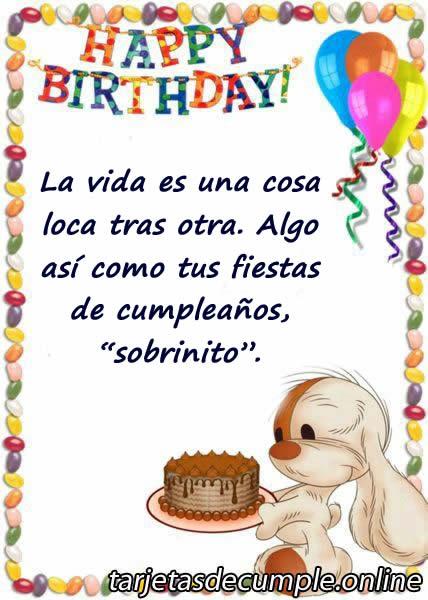 +27 Tarjetas de Cumpleaños para un Sobrino u30102019 u3011